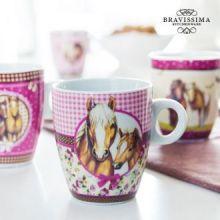 Tazza Love Horses