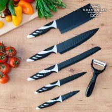 Coltelli Top Chef Black C01024 (6 pezzi)