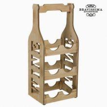Mobile porta vino di legno by Bravissima Kitchen