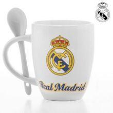 Tazza con Cucchiaino Real Madrid CF