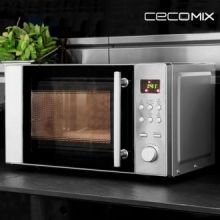 Microonde con Grill Cecomix Steel 1364
