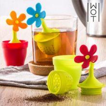 Infusore da Tè in Silicone Flower Wagon Trend