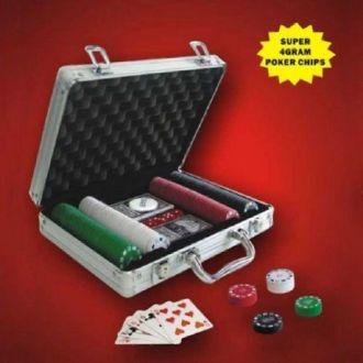 Valigetta Poker 200 Fiches