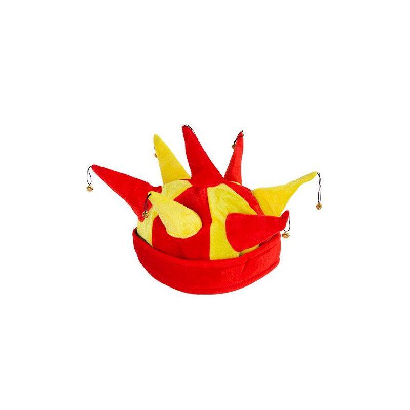 Cappello Giullare con 7 Sonagli Bandiera Spagnola 76b4f43bf0e8