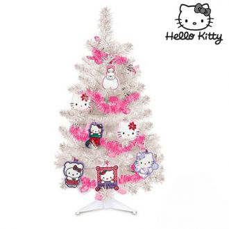 Albero di Natale Hello Kitty con Decorazioni