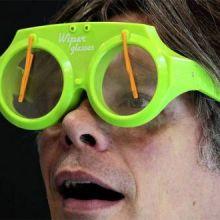 Occhiali con Tergicristallo Wiper Glasses