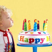 Torta di Compleanno Gonfiabile