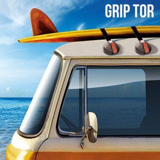 Ventose per Tetto Macchina Grip Tor (confezione da 2)