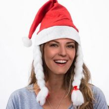 Cappello natalizio di Mamma Natale