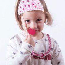Accessori Principessa per Foto Divertenti (pacco da 12)