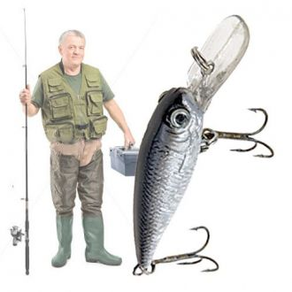 Esca da Pesca Crankbait 70 mm