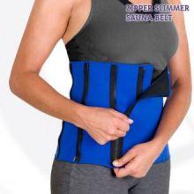 Cintura Sportiva Zipper Slimmer Sauna Belt