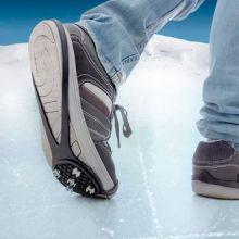 Suole antiscivolo per il ghiaccio