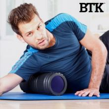 Rullo per Stretching Foam Roller BTK