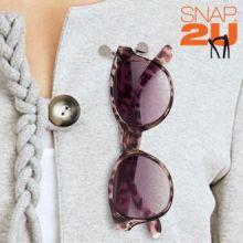 Clip Porta Occhiali Snap2U (3 Pezzi)
