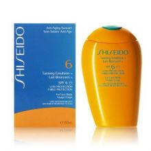 Shiseido - TANNING emulsion SPF6 150 ml