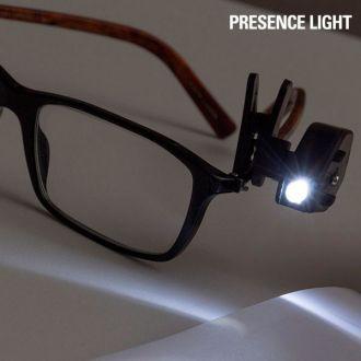 Clip a LED per occhiali Presence Light 360°