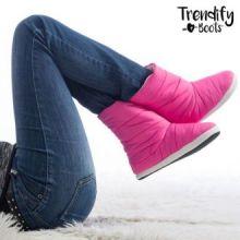 Stivali Pantofole per la Casa Trendify Boots